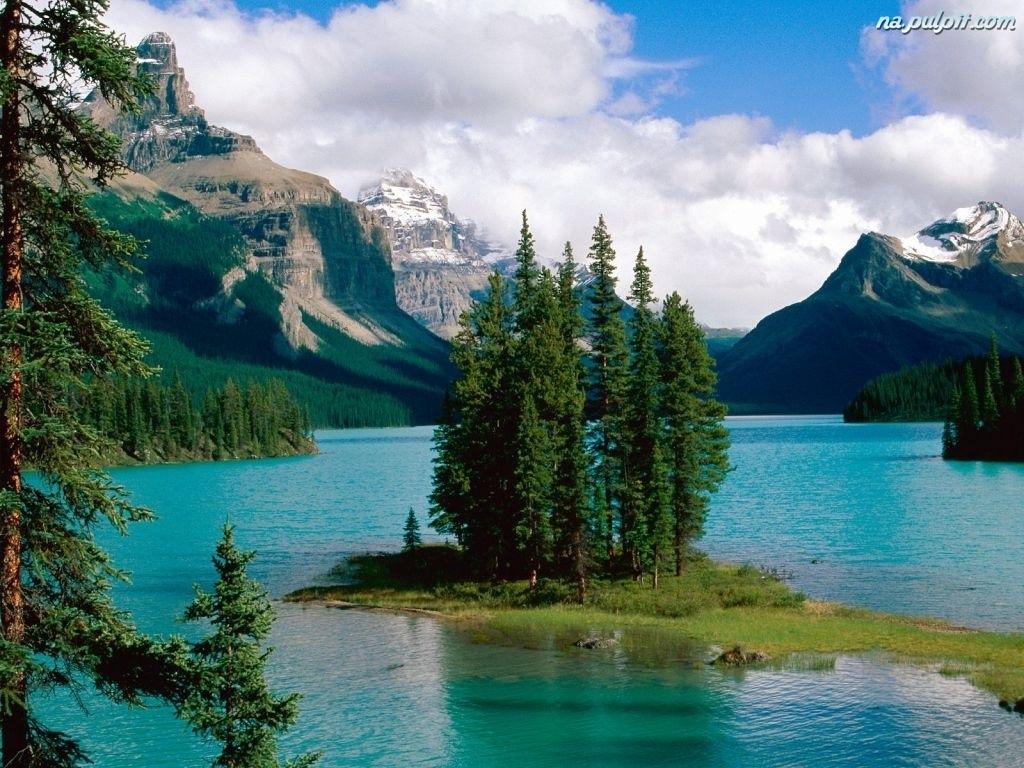 Wysepka, kanada, jezioro